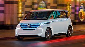 Der Budd-e soll ein beredtes Zeichen für die Zukunftsfähigkeit von VW sein.