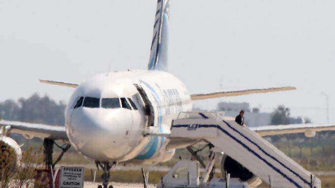 Die Flugzeugentführung auf Zypern ist glimpflich zu Ende gegangen.