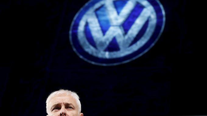 Es gibt leichtere Aufgaben: VW-Chef Matthias Müller soll VW aus der Krise führen.