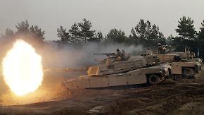 Säbelrasseln zwischen Nato und Russland: USA wollen Panzerbrigade nach Osteuropa verlegen