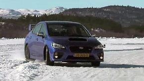 Subaru Levorg und WRX-STI: Allradler verführen zum Tanz auf dem Eis