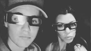 Promi-News des Tages: Justin Bieber turtelt wieder mit Kardashian-Schwester