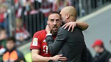 """""""Er redet zu viel"""": Ribéry schimpft sich in Guardiola-Rausch"""