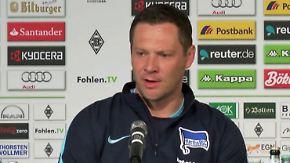 """Hertha-Trainer Dárdai nach 0:5: """"Richtige Zeit für eine Niederlage"""""""