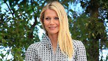 Mutprobe für Megareiche: Gwyneth Paltrow lässt sich stechen