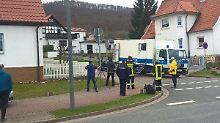 Sprengstofffund in Thüringen: LKA-Experten entschärfen Kofferbombe