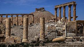 """Dirk Emmerich berichtet aus Palmyra: Spezialisten finden """"perfide Sprengfallen"""""""