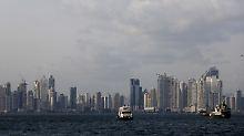 Die Skyline von Panama City.