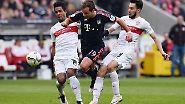 VfB Stuttgart - FC Bayern München 1:3 (0:1)