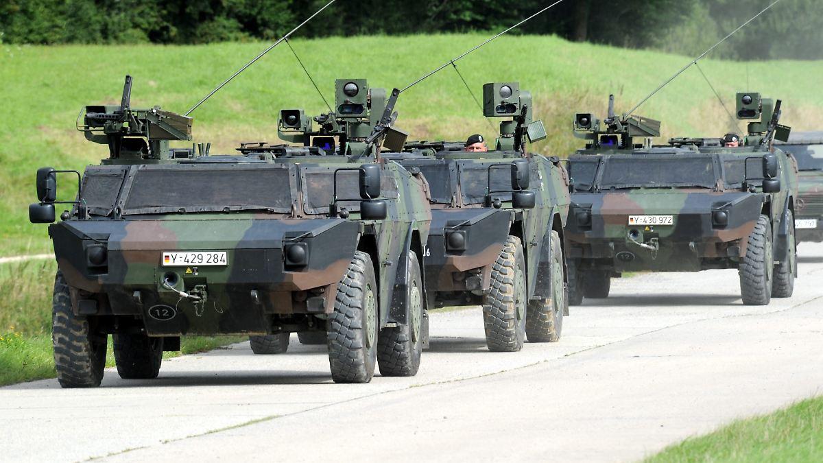 Schutz 246 Stlicher Nato Grenzen Bundeswehr Verst 228 Rkt