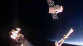 """Nach mehreren Rückschlägen: """"Dragon""""-Mission schreibt Raumfahrtgeschichte"""
