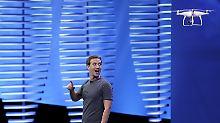 Facebook-Chef Mark Zuckerberg macht in einer Sekunde mehr Geld als amerikanische Durchschnittsfamilien in einem Jahr.
