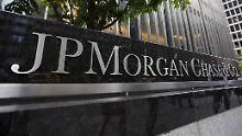 Der Aktienkurs JP Morgan fällt im Mittwochhandel.