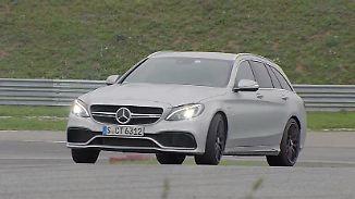 """""""Das Ding schiebt beachtlich nach vorne"""": Tim Schrick bittet den Mercedes-AMG C63 S zum Tanz"""