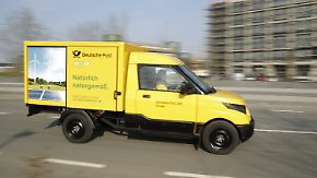 Street-Scooter aus eigenem Hause: Post nimmt Elektroauto-Prototypen in Testbetrieb