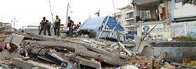 """""""Als ginge die Welt unter"""": Erdkruste bebt in Japan und Ecuador"""
