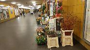 Eine HDR-Aufnahme im U-Bahnhof bei Kunstlicht ...