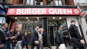 Promi-News des Tages: Burger King nennt Filiale in London für die Queen um