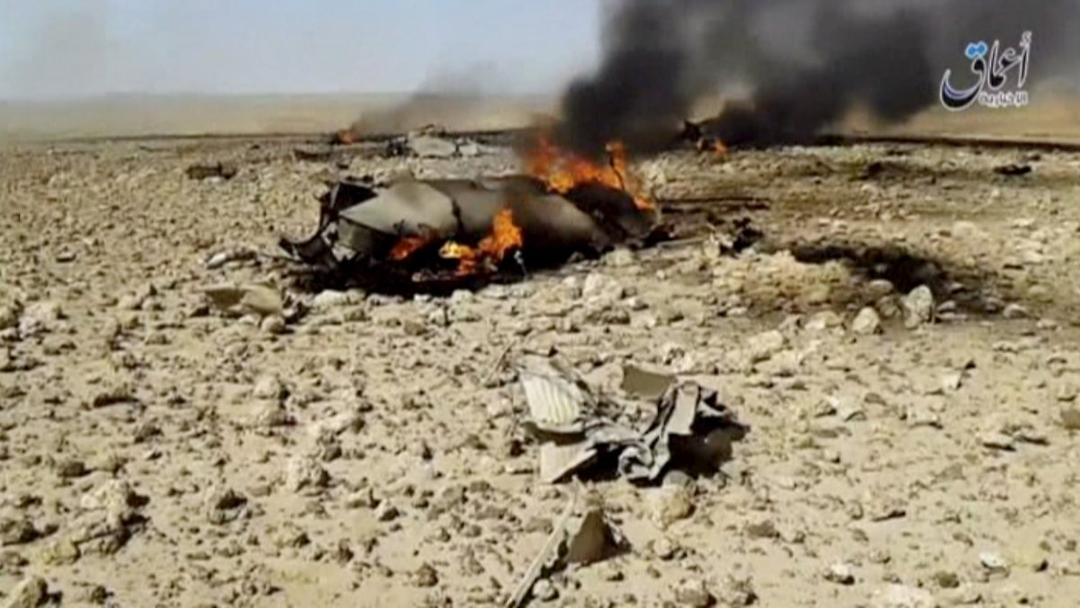 IS nimmt syrischen Piloten gefangen