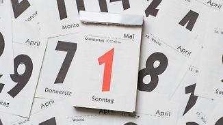 1. Mai an einem Sonntag: Politiker wollen entgangene Feiertage nachholen