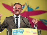 Eine Ein-Mann-Veranstaltung? Lindner sei seinen Kollegen als Redner überlegen, findet Hirsch.