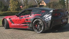 US-Kultauto in Westfalen veredelt: Tuner setzen Corvette Stingray auf Anabolika