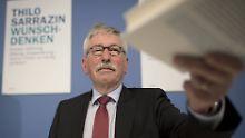 Sarrazin ist wieder da: Deutschland geht doch nicht unter