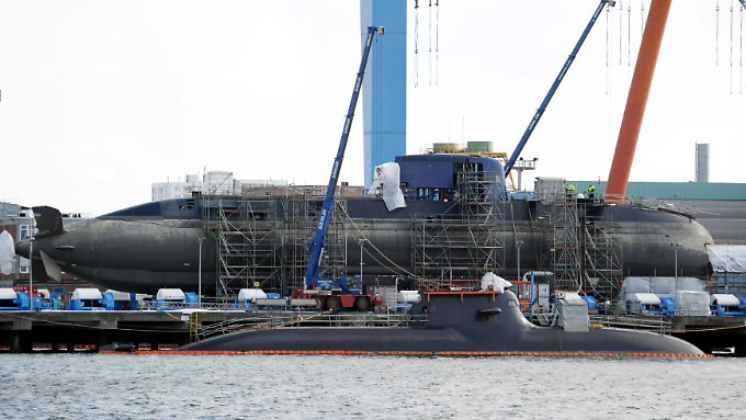 Unter anderem bei der israelischen Marine ist die neueste Generation der ThyssenKrupp-U-Boote bereits im Einsatz.