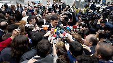 Im Fokus der Medien: PSOE-Chef Pedro Sánchez will neuer Ministerpräsident werden.