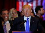 Klare Erfolge an der Ostküste: Lehren aus Clintons und Trumps Siegen
