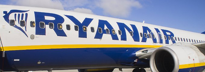 Alle Ryanairmaschinen sind vom selben Typ - auch das spart kosten.