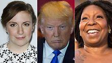 Dunham und Goldberg sollen weg: Donald Trump zieht vom Leder