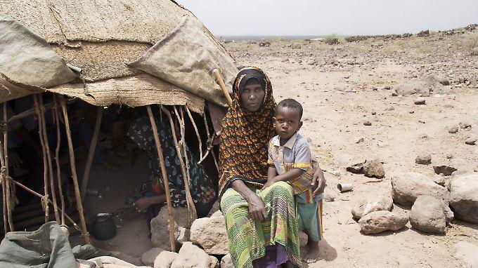 Millionen Kinder leiden unter der Dürre.