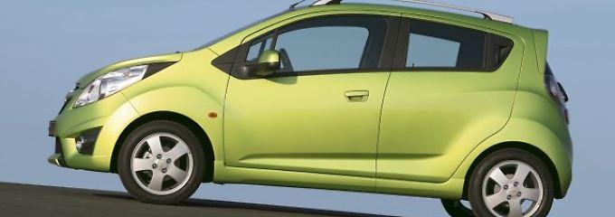Nur noch gebraucht zu haben: Chevrolet Spark - auf das Alter kommt es an
