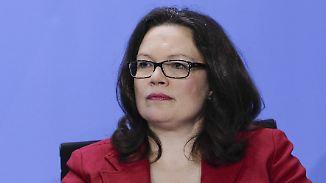 Hartz-IV-Beschränkung für EU-Ausländer: Andrea Nahles nimmt Sozialmissbrauch ins Visier