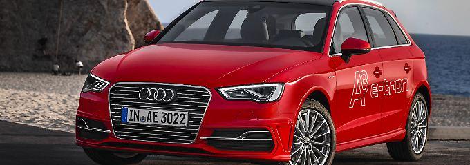 Audi adaptiert die Doppelherz-Technik des VW Golf beim A3 Sportback e-tron (38.400 Euro).