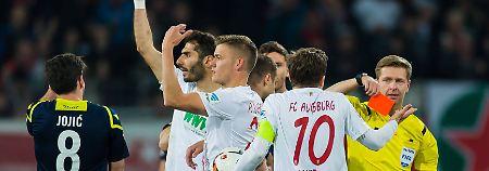 Punkteteilung im Mittelfeld: Augsburg und Köln spielen Unentschieden
