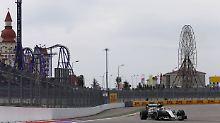 Schnellster im F1-Abschlusstraining: Hamilton hängt Rosberg in Sotschi ab