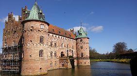 """Ein """"lebendiges, bewohntes"""" Schloss."""