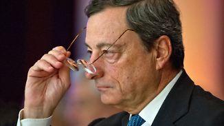 Anhaltende Kritik an EZB-Niedrigzinspolitik: Draghi gibt Deutschland Kontra