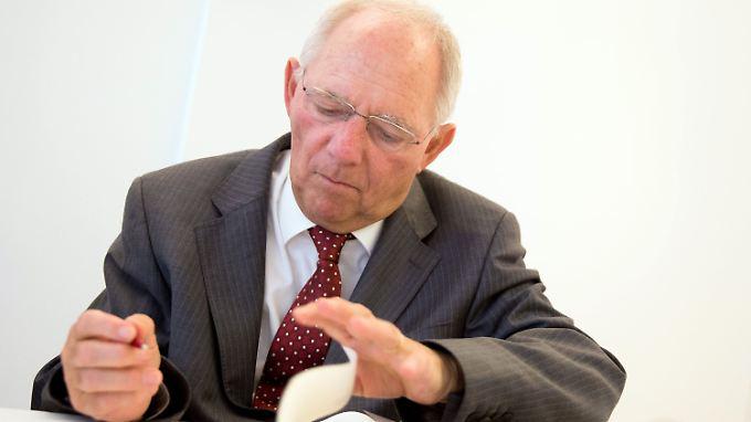 Wolfgang Schäuble setzt sich dafür ein, dass die EU-Nachbarstaaten stabiilisiert werden. Das geht nur mit viel Geld.