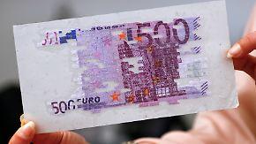 Bye, bye Banknote: 500-Euro-Schein wird eingestellt
