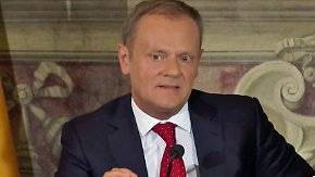 """Treffen der EU-Spitzen in Rom: EU-Ratspräsident Tusk: """"Idee von einer europäischen Nation ist eine Illusion"""""""