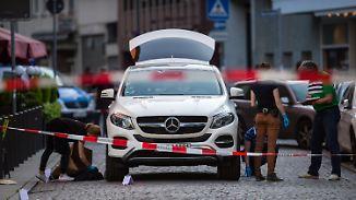Täter auf der Flucht: Zwei Männer bei Schießerei in Frankfurter Innenstadt verletzt