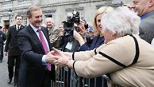 Nach zwei Monaten Stillstand: Irisches Parlament wählt Kenny