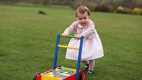 Promi-News desTtages: Prinzessin Charlotte lässt die Kassen der Modelabel klingeln