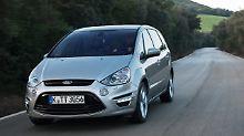 Sportwagen unter Familienautos: Beim Ford S-Max gibt's wenig zu meckern