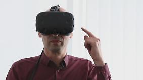 VR-Spaß fürs Wohnzimmer: Das HTC Vive im Test