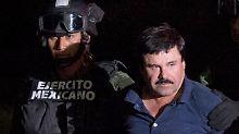 """Drogenboss soll 2017 vor Gericht: Mexiko will """"El Chapo"""" an USA ausliefern"""