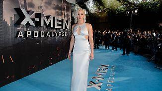 Stars strahlen umso mehr: X-Men-Premiere versinkt im Londoner Dauerregen